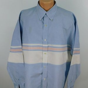 Tommy Hilfiger long sleeve button down.  XL